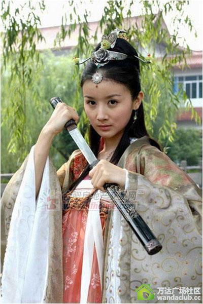 范冰冰王祖贤林心如 经得起时间考验的古装美